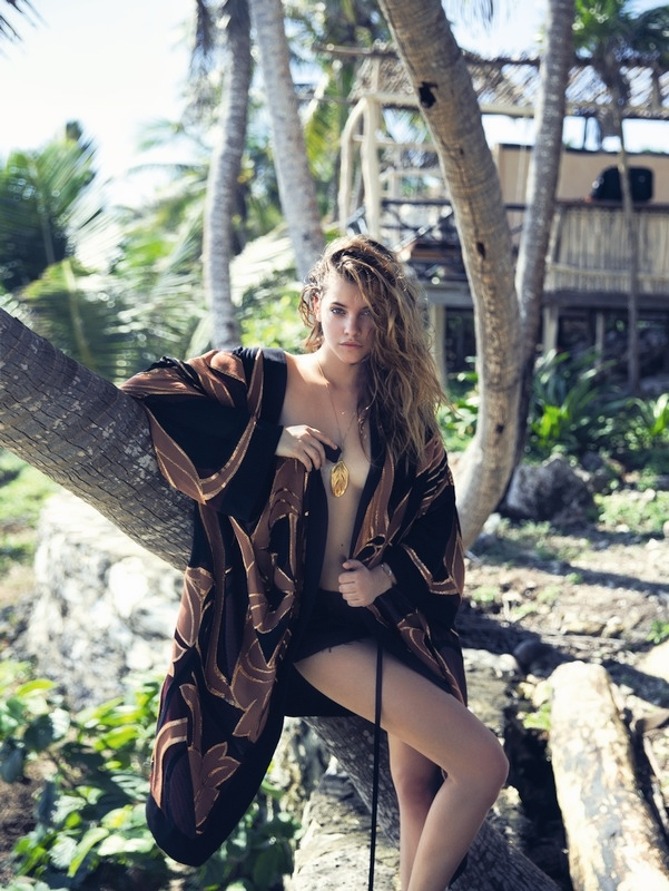 barbara palvin beach shoot9 Barbara Palvin is a Beach Babe in Marie Claire Italia Shoot