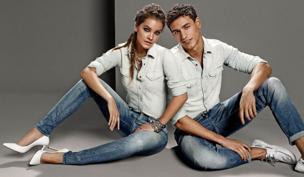 barbara palvin gas jeans ss 14 2 Barbara Palvin Rocks Denim for GAS Jeans Spring 14 Ads