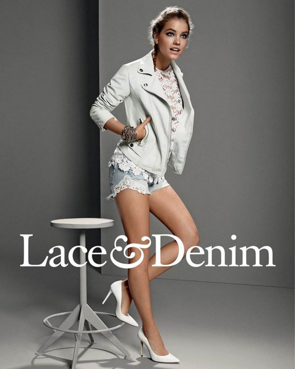 barbara palvin gas jeans ss 14 7 Barbara Palvin Rocks Denim for GAS Jeans Spring 14 Ads