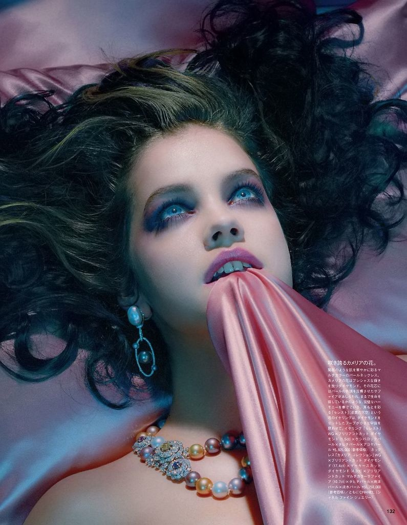 barbara palvin miles aldridge3 Barbara Palvin Gets Dreamy for Miles Aldridge in Vogue Japan Spread