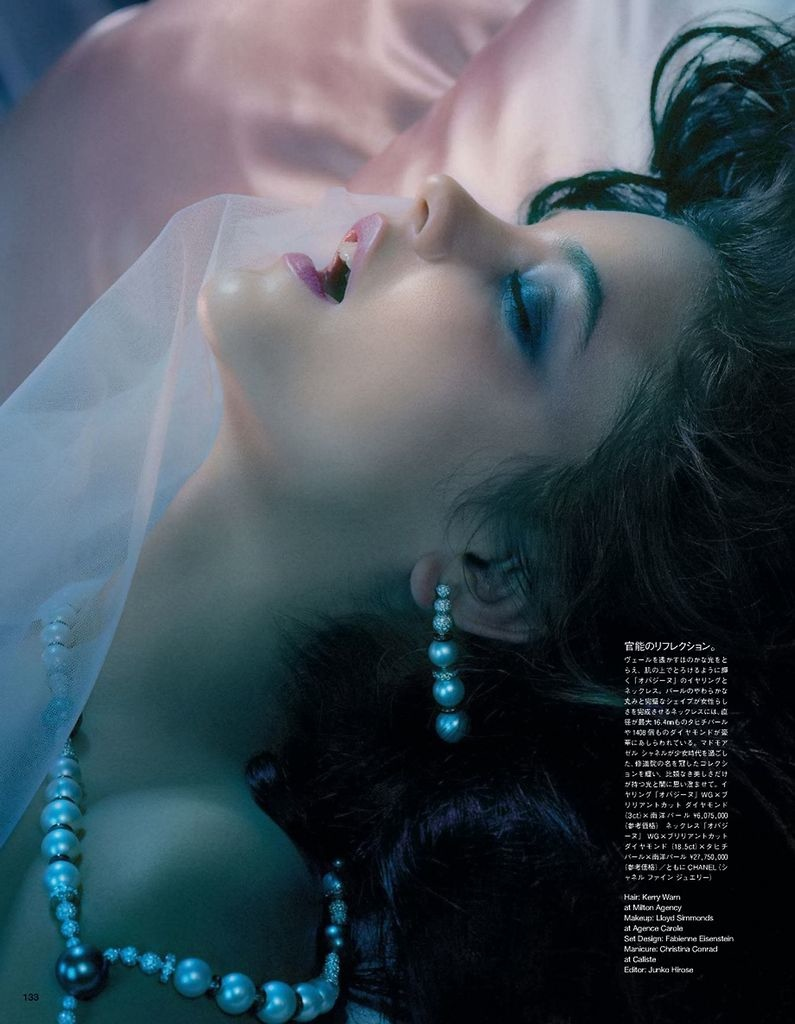 barbara palvin miles aldridge4 Barbara Palvin Gets Dreamy for Miles Aldridge in Vogue Japan Spread