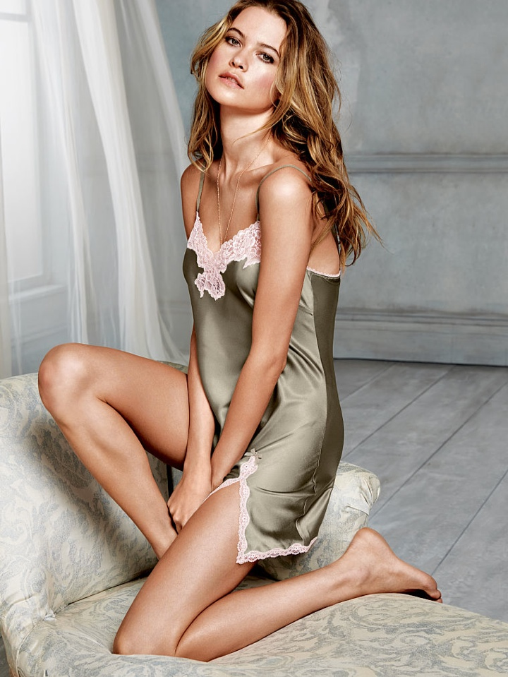 Behati Prinsloo In Victorias Secret Lingerie Photo Shoot