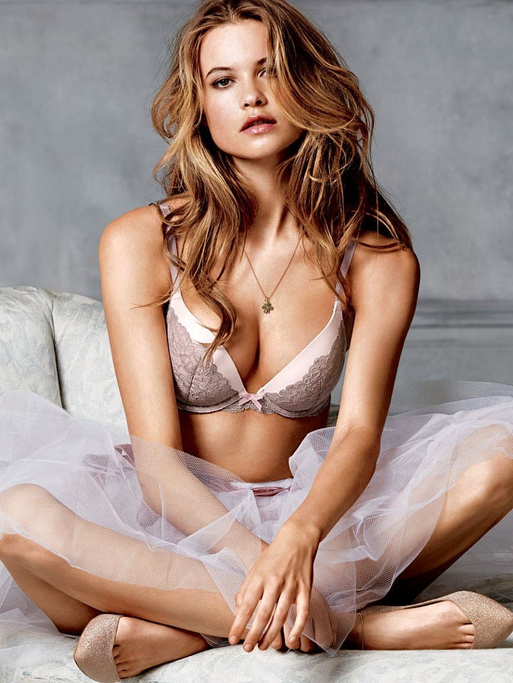 Behati Prinsloo In Victorias Secret Lingerie Photo Shoot
