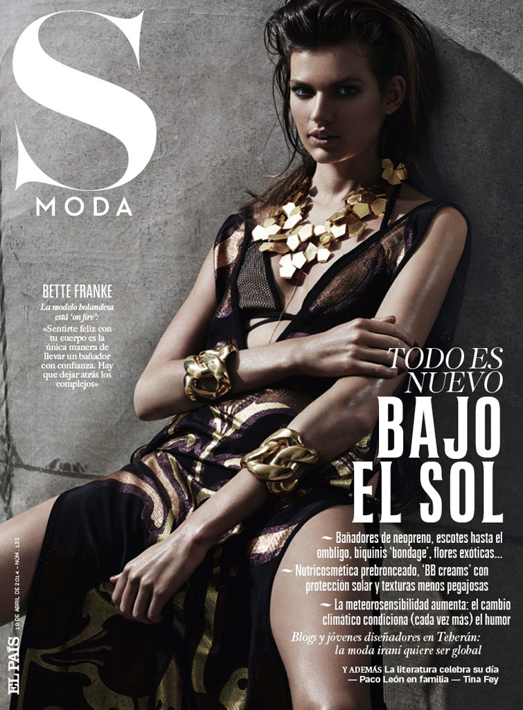 bette franke david roemer8 Bette Franke is a Metallic Goddess for S Moda Spread by David Roemer