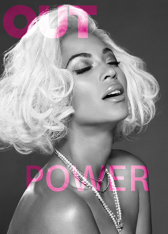 beyonce out cover Beyonce Covers OUT Magazine, Talks Sexuality in Music