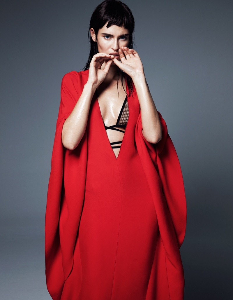 bianca balti giampaolo sgura5 Bianca Balti in Cutting Edge Style for Fashion Issue #2 by Gianluca Fontana