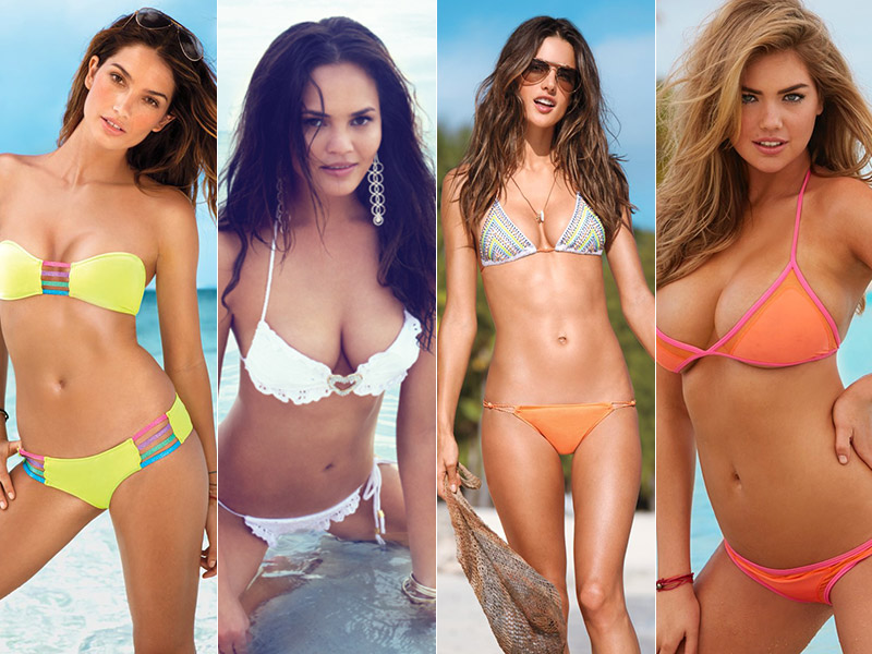 bikini models roundup Swim Season! 10 Photos of Models in Bikinis for Fitspiration