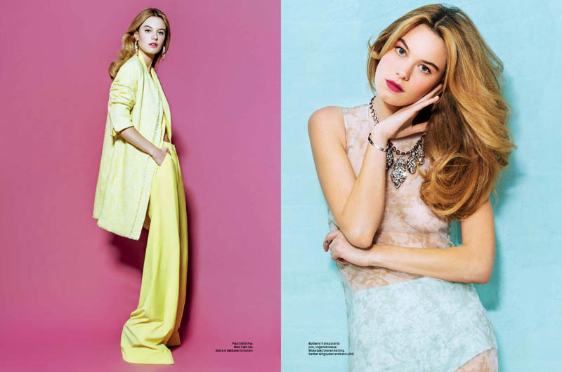 camille rowe 2014 2 Sugar & Spice: Camille Rowe in LOfficiel Netherlands by Andrew Kuykendall