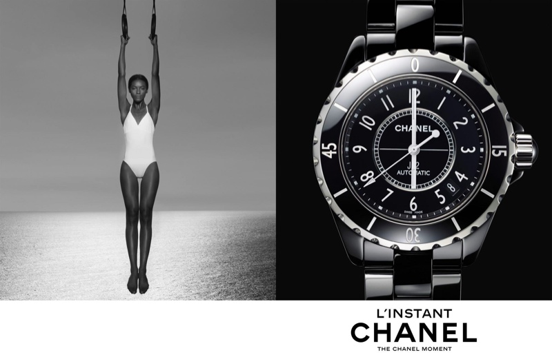 chanel linstant watch campaign 20142 Jac Jagaciak, Fei Fei Sun + Sharam Diniz Star in Chanel Linstant Watch 2014 Campaign
