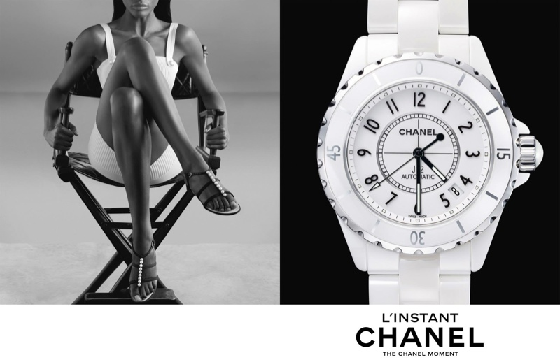 chanel linstant watch campaign 20143 Jac Jagaciak, Fei Fei Sun + Sharam Diniz Star in Chanel Linstant Watch 2014 Campaign