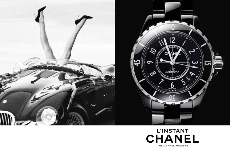 chanel linstant watch campaign 20144 Jac Jagaciak, Fei Fei Sun + Sharam Diniz Star in Chanel Linstant Watch 2014 Campaign