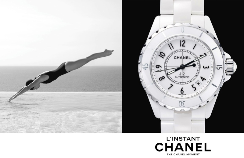 chanel linstant watch campaign 20145 Jac Jagaciak, Fei Fei Sun + Sharam Diniz Star in Chanel Linstant Watch 2014 Campaign