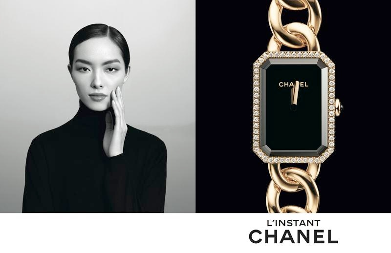 chanel linstant watch campaign 20146 Jac Jagaciak, Fei Fei Sun + Sharam Diniz Star in Chanel Linstant Watch 2014 Campaign