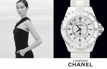 Jac Jagaciak, Fei Fei Sun + Sharam Diniz Star in Chanel L'instant Watch 2014 Campaign