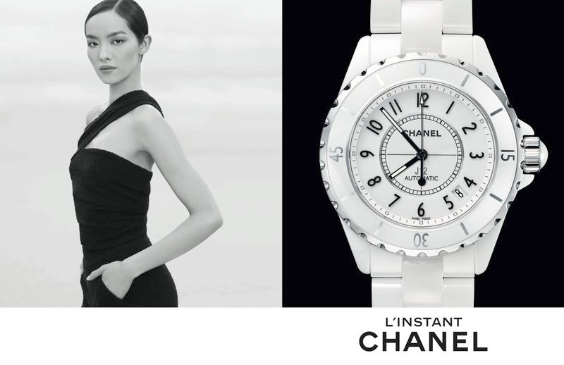 chanel linstant watch campaign 20147 Jac Jagaciak, Fei Fei Sun + Sharam Diniz Star in Chanel Linstant Watch 2014 Campaign