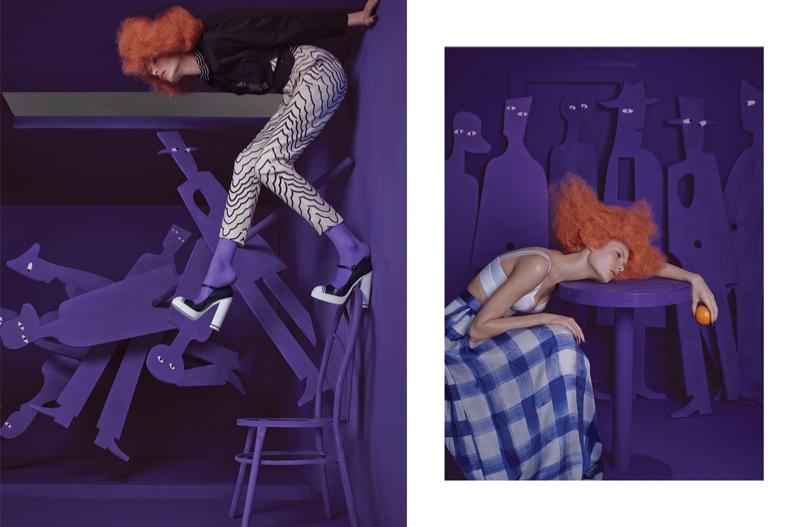 Dreamland: Alexandra Martynova Escapes for Bazaar China by Charles Guo