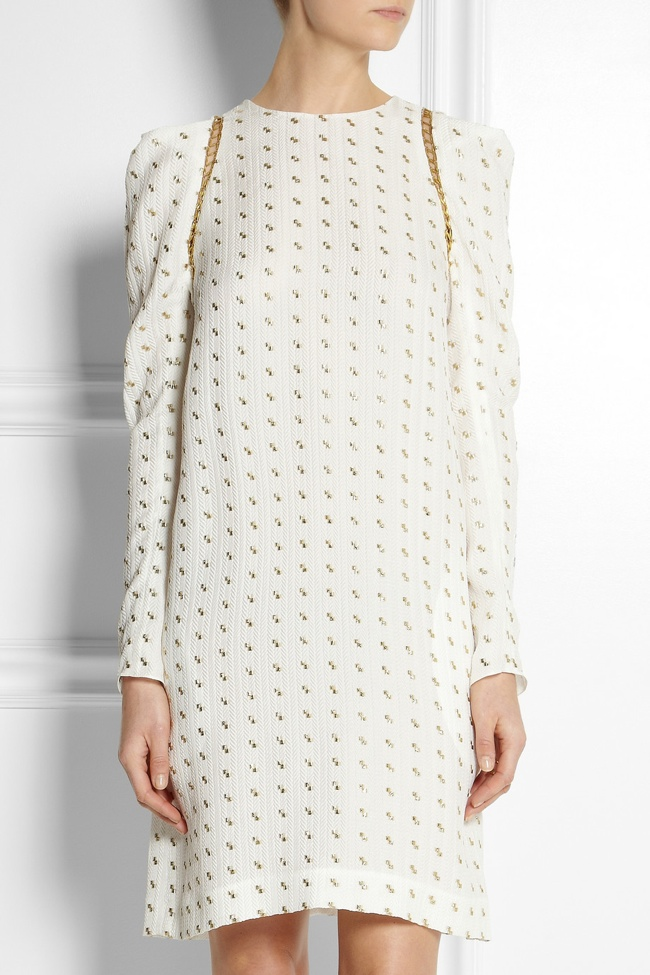 chloe-netaporter-jacquard-dress