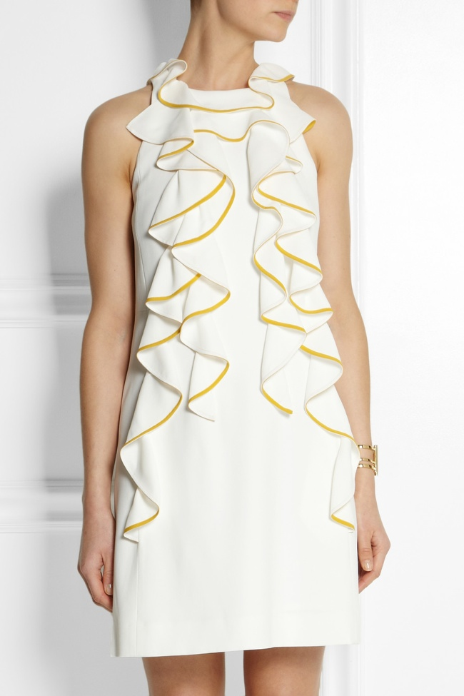 chloe netaporter ruffle dress Shop the Chloe Line Made Exclusively for Net a Porter