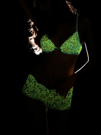 Cosabella Has Lingerie That Glows in the Dark