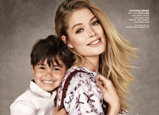 doutzen kroes son born free 326x235