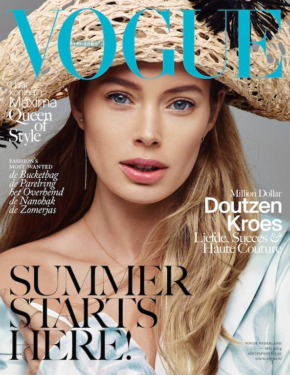 doutzen kroes vogue netherlands cover Doutzen Kroes is Ready for Summer on New Vogue Netherlands Cover