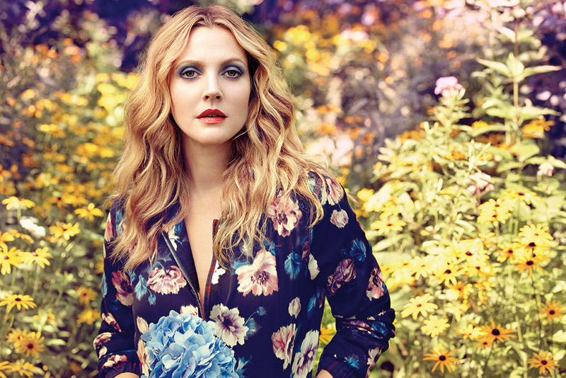 drew barrymore flower Drew Barrymore Stars in Flower Beauty Makeup Ad by Diego Uchitel