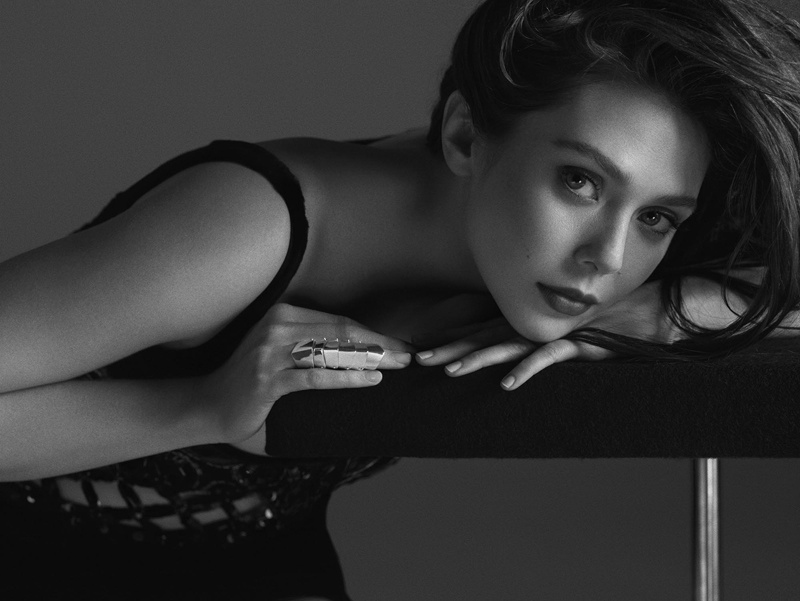 elizabeth olsen photo shoot 2014 6 Elizabeth Olsen Smolders in FLAUNT Shoot by Hunter & Gatti