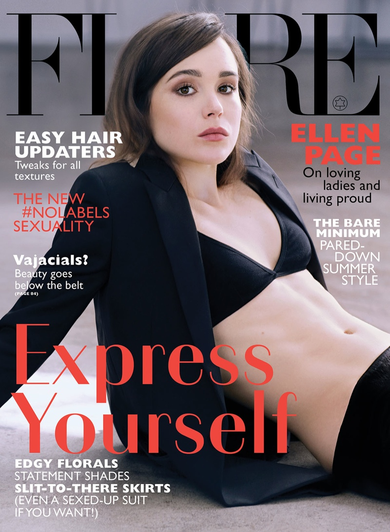 ellen page flare photos4 Ellen Page Covers Flare, Reveals Fears Over Coming Out as Gay