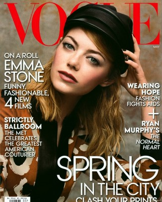 emma stone vogue 2014 cover 326x406