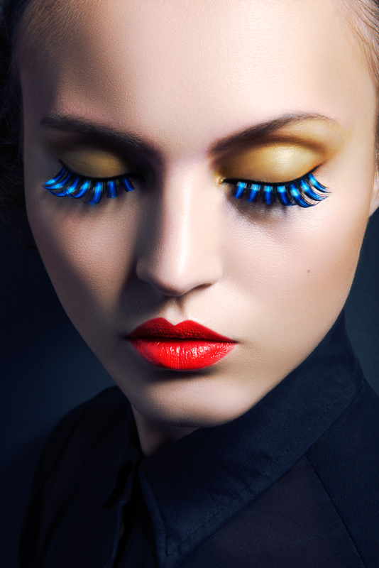 eyelashes jeff tse1 Lofty Lashes: Paloma Passos by Jeff Tse in Beauty Shoot