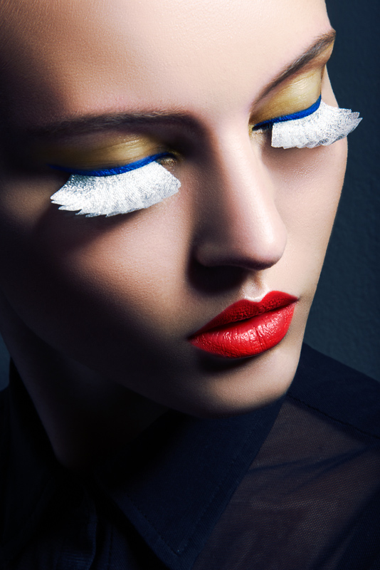 eyelashes jeff tse2 Lofty Lashes: Paloma Passos by Jeff Tse in Beauty Shoot