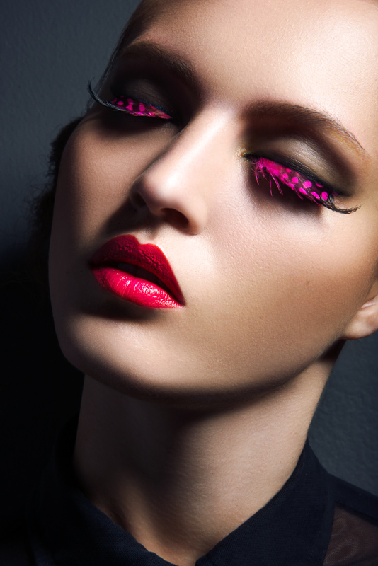 eyelashes jeff tse3 Lofty Lashes: Paloma Passos by Jeff Tse in Beauty Shoot