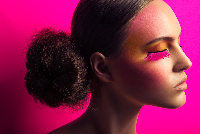Lofty Lashes: Paloma Passos by Jeff Tse in Beauty Shoot