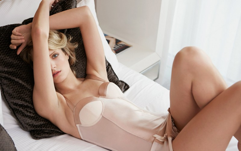 In Bed with Fanny François for El Corte Inglés Shoot