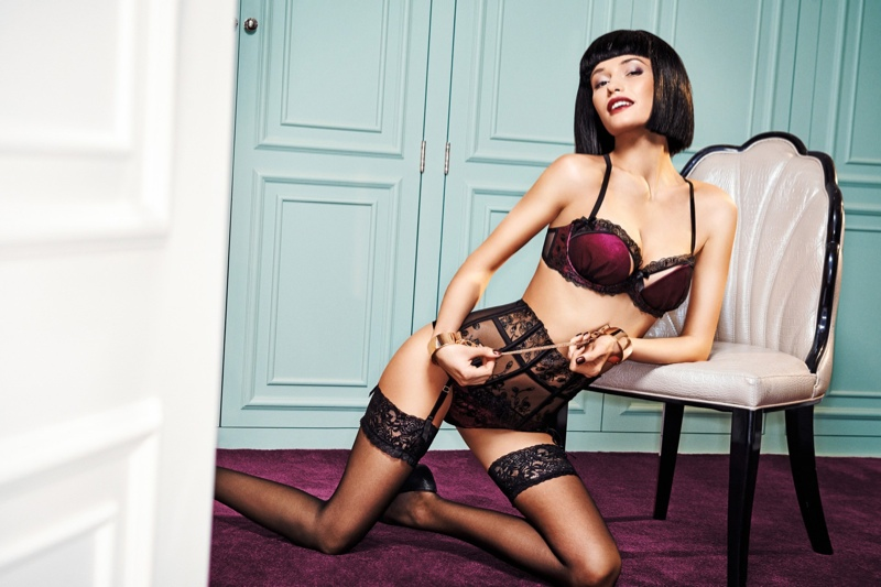 giles ann sommers lingerie1 Giles Collaborates with Ann Summers for Playfully Naughty Lingerie Line