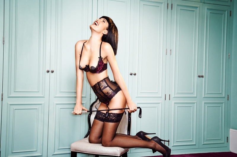 giles ann sommers lingerie8 Giles Collaborates with Ann Summers for Playfully Naughty Lingerie Line