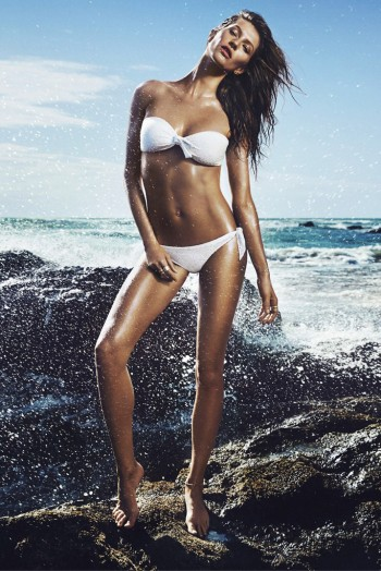 First Look | Gisele Bundchen at the Beach for H&M Summer Campaign