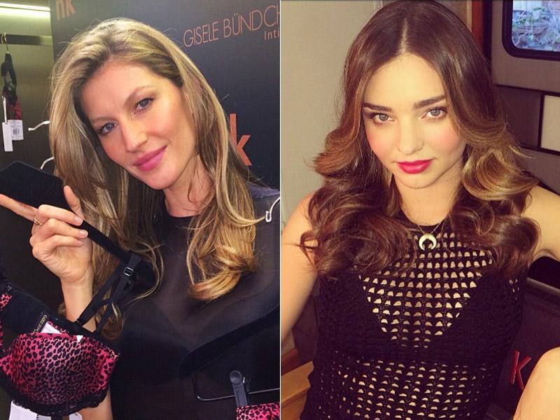 Model Singoff! Gisele Bundchen and Miranda Kerr Music Released