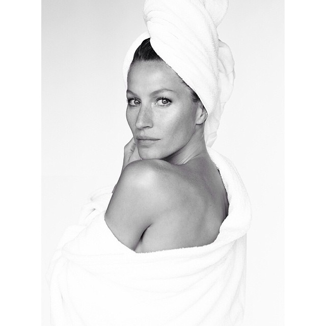 gisele towel series Instagram Photos of the Week | Emily Ratajkowski, Suki Waterhouse + More Models