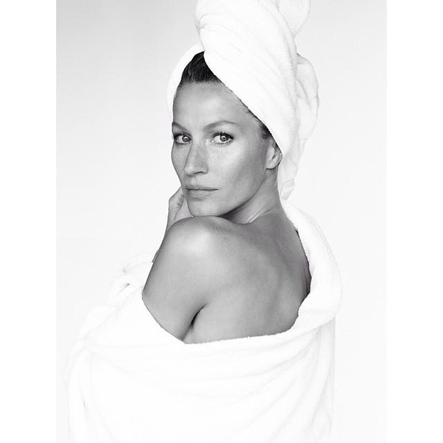 gisele towel series Instagram Photos of the Week | Emily Ratajkowski, Suki Waterhouse + More Models