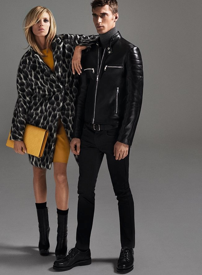 gucci prefall 2014 campaign2 Anja Rubik Gets 70s Chic for Gucci Pre Fall 2014 Campaign