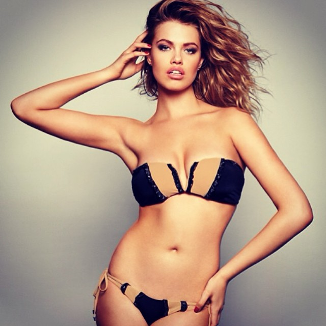 Hailey Clauson for Beach Bunny Swimwear
