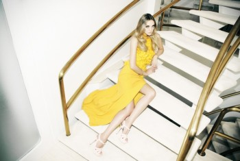 House of Style: Heather Marks Lounges for Dress to Kill Shoot