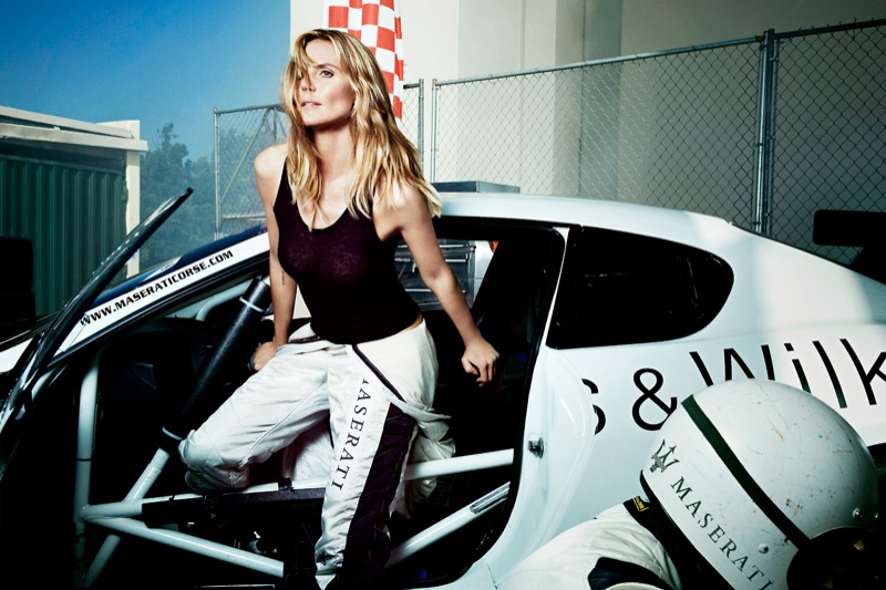 heidi klum maserati 2014 1 Heidi Klum Lives the Glamorous Life in New Maserati Ads