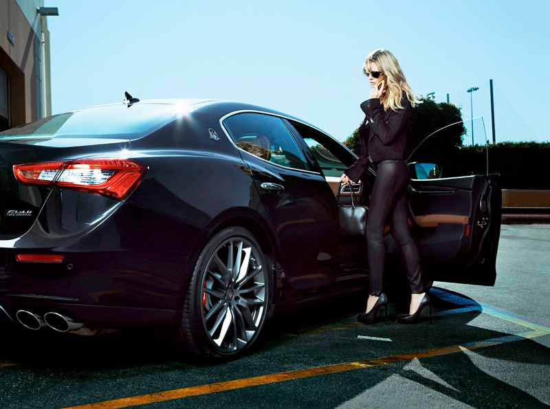 heidi klum maserati 2014 2 Heidi Klum Lives the Glamorous Life in New Maserati Ads