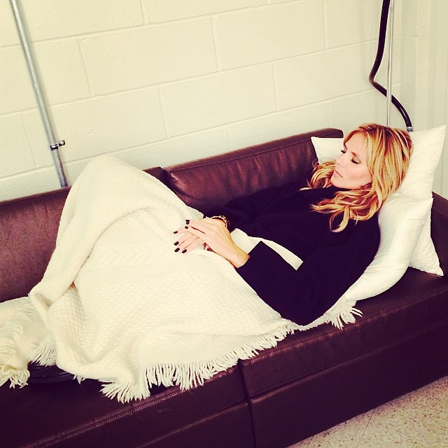 heidi sleep Instagram Photos of the Week | Jourdan Dunn, Emily DiDonato + More Models