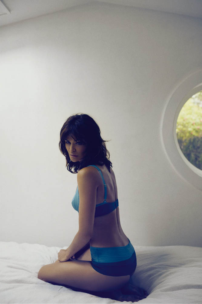 helena christensen for triumph spring 2014 2 Supermodel Helena Christensen Models Triumph Lingerie Collaboration