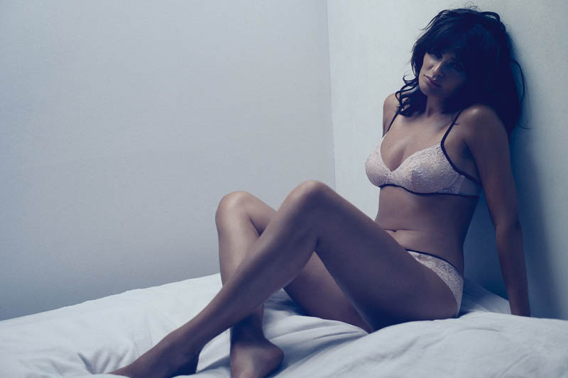 helena christensen for triumph spring 2014 3 Supermodel Helena Christensen Models Triumph Lingerie Collaboration