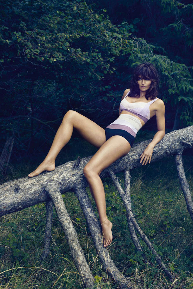 helena christensen for triumph spring 2014 6 Supermodel Helena Christensen Models Triumph Lingerie Collaboration