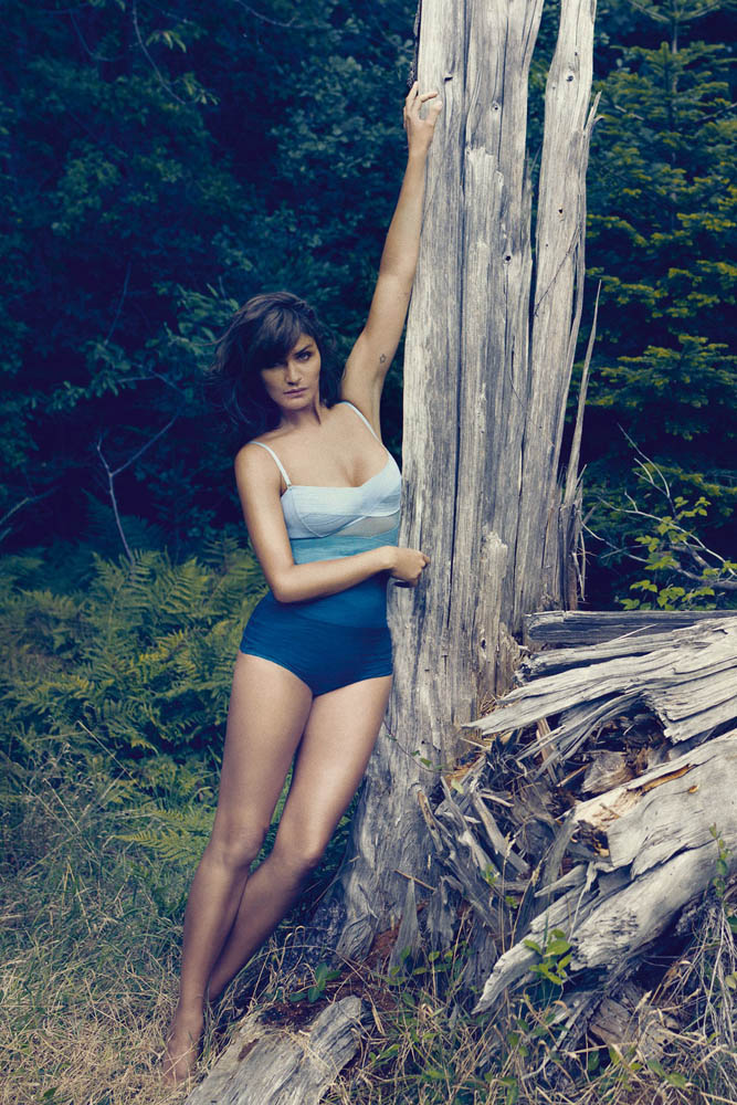 helena christensen for triumph spring 2014 7 Supermodel Helena Christensen Models Triumph Lingerie Collaboration